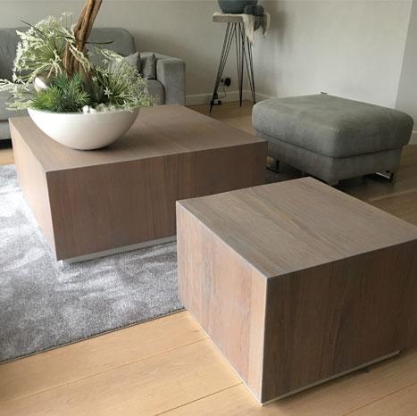 Op maat gemaakte salontafel