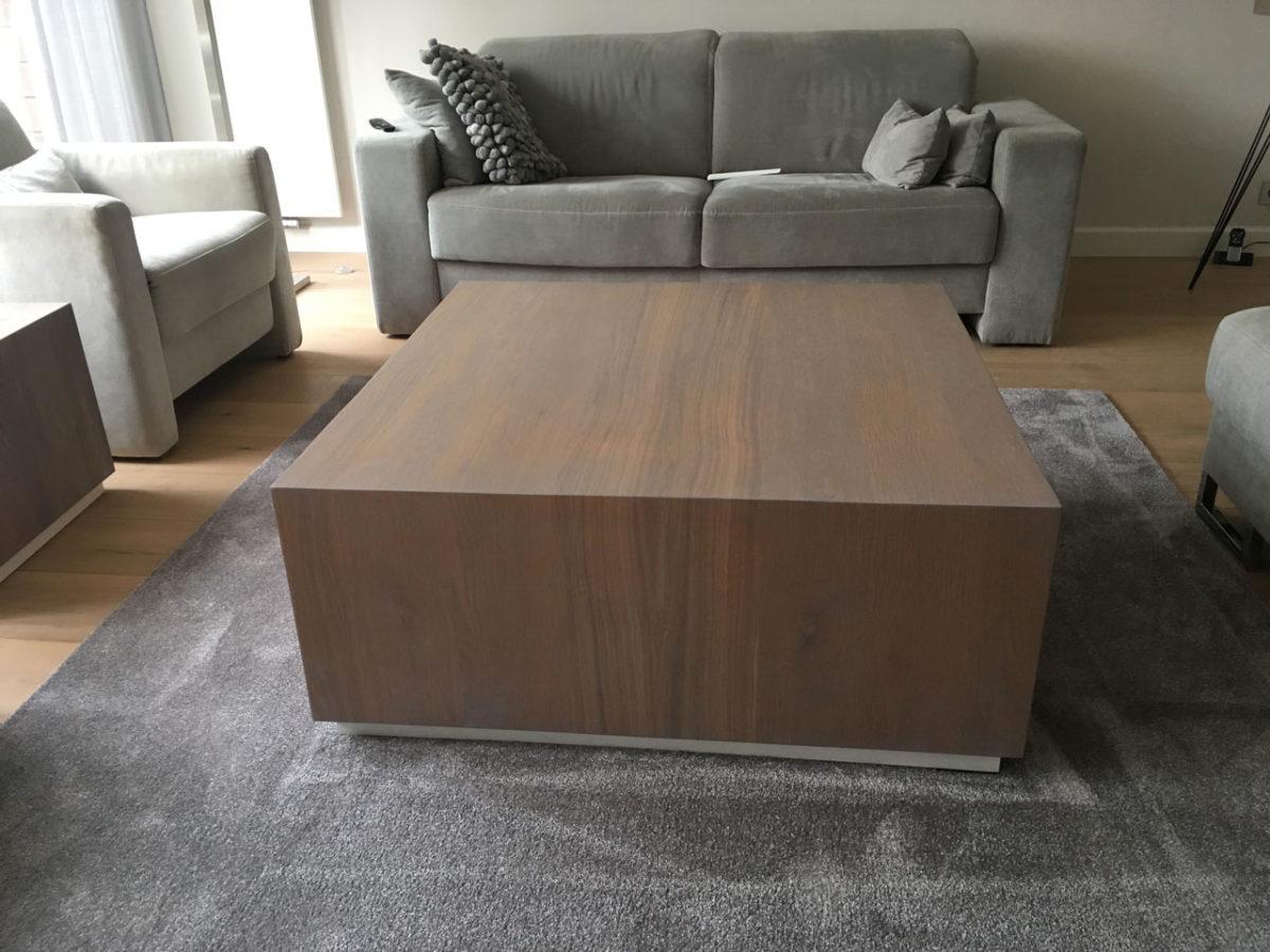 Realisatie op maat salontafel